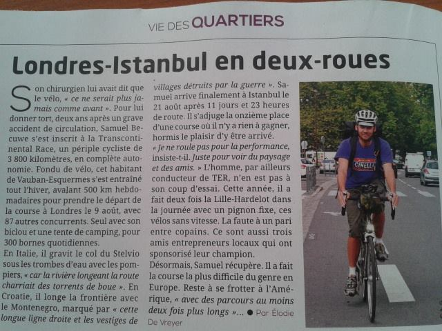 lillemag Presse Transcontinental 2014 non classe
