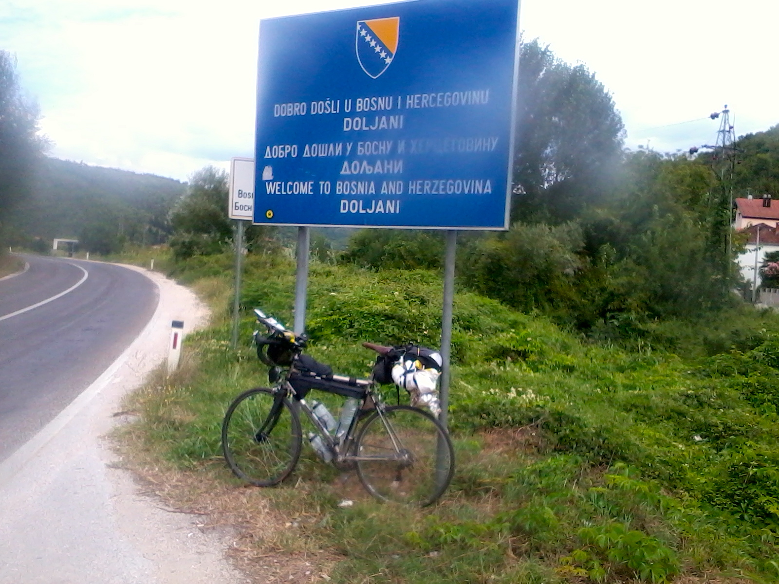 Photo0056 #TCR2014 Jour 8, Croatie Bosnie Croatie transcontinental non classe